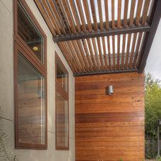 Modern Exterior by MAK Design + Build Inc.