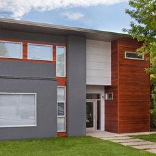 Modern Exterior by rectangle design inc