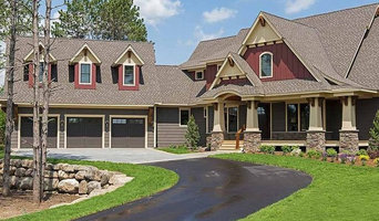 Red and Brown Siding