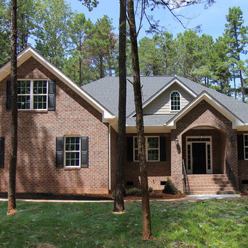 Red Brick One Story Home - The Bennett