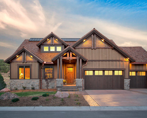 Rustic Salt Lake City Exterior Design Ideas Remodels Photos