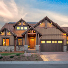 Rustic Exterior by Ivory Homes