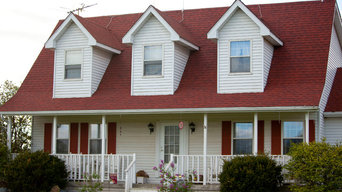 Red Shingle Re-Roof in Valparaiso, IN