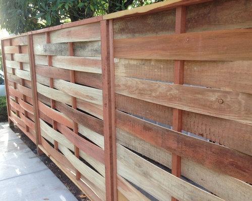 Basket Weave Fence Houzz