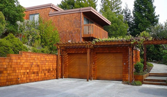 Redwood Deck & Shingle Siding