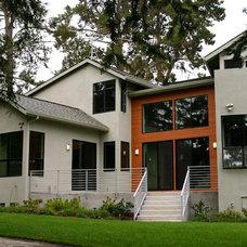 Contemporary Exterior by Zak Johnson Architects