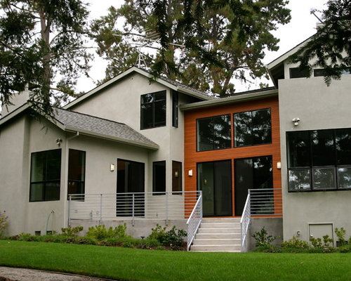 Contemporary exterior finishes ideas pictures remodel for Modern home exterior finishes