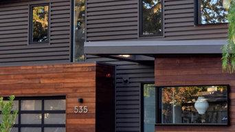 Redwood tank wood Paneling