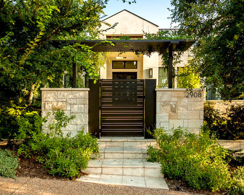 Front gate ideas pictures remodel and decor for Front gate designs for houses