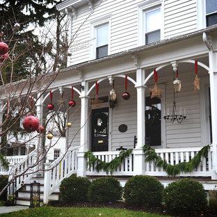 Inspiration for a timeless exterior home remodel in Philadelphia