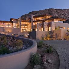 Contemporary Exterior by David J. Wade Inc, Architect