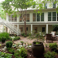 Traditional Exterior by David Turner, Sustainable Construction, Inc