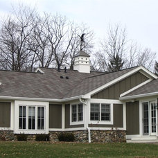 Traditional Exterior by STEVE GRAY RENOVATIONS INC
