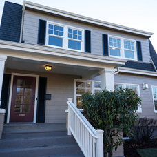 Traditional Exterior by Portland Development Group