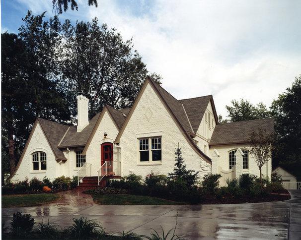 Traditional Exterior by Cramer Kreski Designs