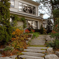 Contemporary Exterior by Structured Creations Inc