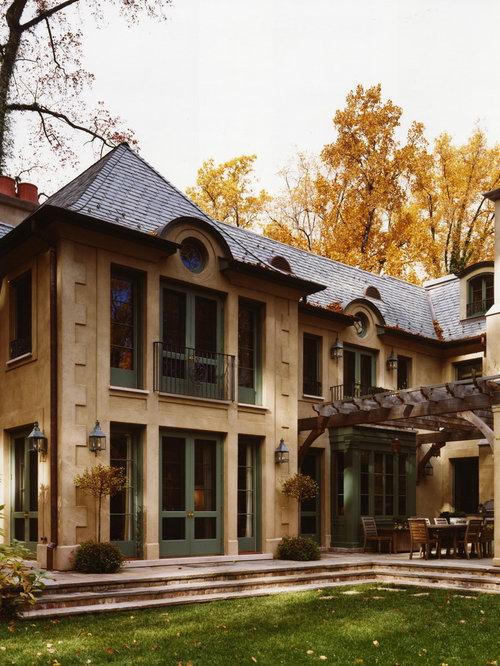 Abbinamento di colori per la facciata esterna foto e for Piani casa cottage acadian