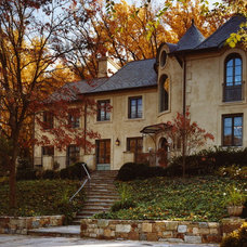 Traditional Exterior by Barnes Vanze Architects, Inc