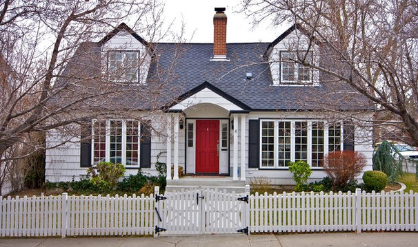 Traditional Exterior by Crom Construction, Inc.
