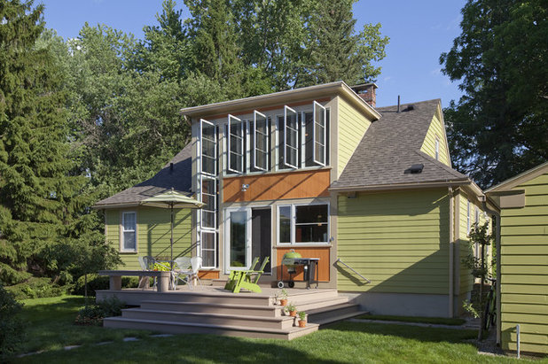 Traditional Exterior by Burr & McCallum Architects