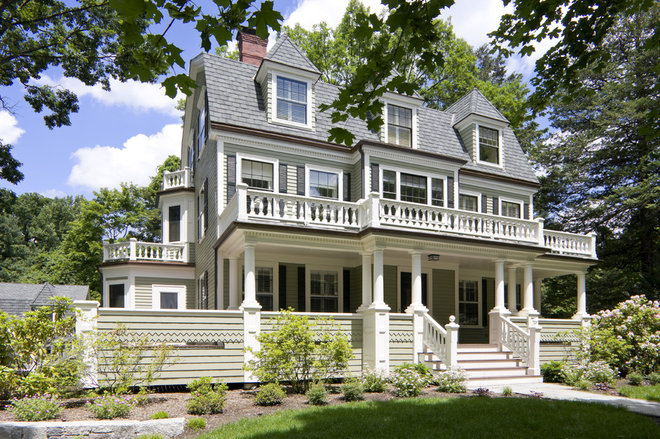 Traditional Exterior by LDa Architecture & Interiors