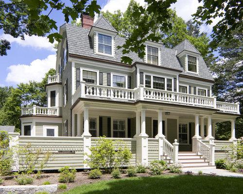 Victorian benjamin moore product home design photos for Victorian home exterior designs