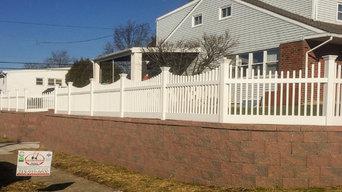 Replacing retaining wall, driveway,  steps and walkway
