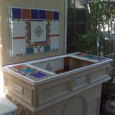 Eclectic Exterior by ALLURE INTERIORS, Connie Sloma, Allied ASID