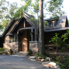 Traditional Exterior by ARCON Architects & Builders, LLC