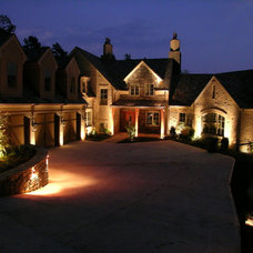 Traditional Exterior by Anthemion Architecture LLC