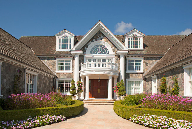 Traditional Exterior by Colangelo Associates Architects