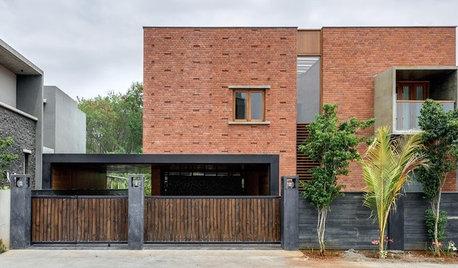 6 Contemporary Indian Homes With Brick Facades