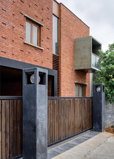 Eclectic Exterior by Hemant Patil Photography