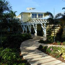 Tropical Exterior by Antonino Treu, Architect