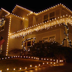 Residential Christmas light installation  sc 1 st  Houzz & Christmas Lighting Tulsa - Tulsa OK US 74136 azcodes.com