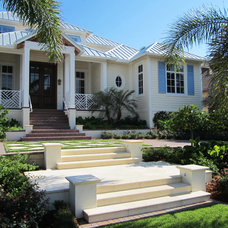 Tropical Exterior by Windham Studio, Inc.