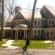 Traditional Exterior by N. J. White Associates