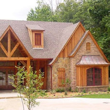 Traditional Exterior by Christy Root Designs