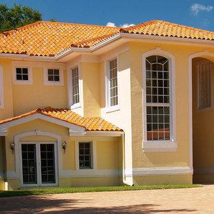 Ideas para fachadas | Diseños de fachadas amarillas