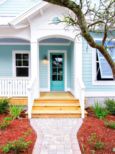 Eclectic Exterior by Dayspring Contracting
