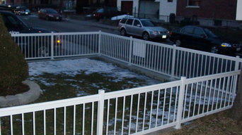 Residential Metal Fence