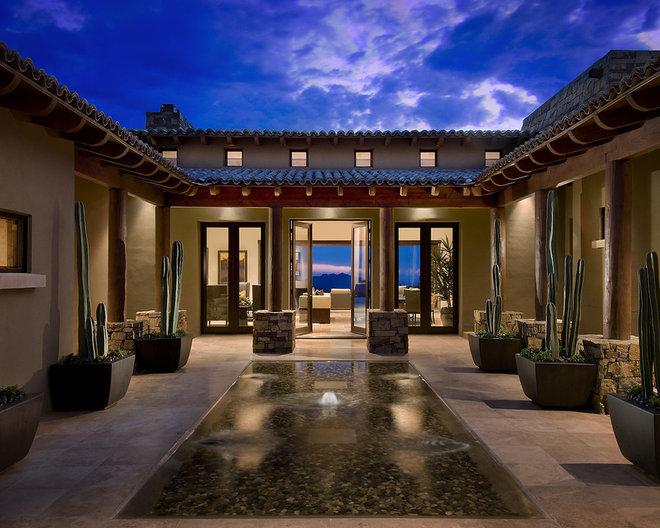 Mediterranean Exterior by Ownby Design