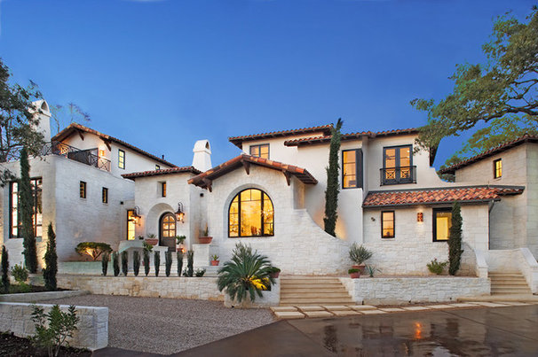 Mediterranean Exterior by BEVOLO GAS AND ELECTRIC LIGHTS