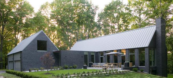 Contemporary Exterior by Palmieri Builders