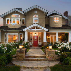 Craftsman Exterior by Dylan Patrick Photography Inc.