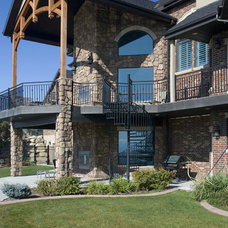 Traditional Exterior by SN Custom Railing, Inc