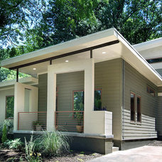 Contemporary Exterior by Pimsler-Hoss Architects, Inc.
