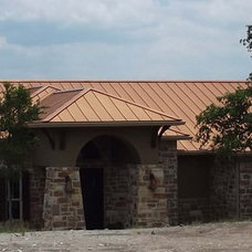 Contemporary Exterior by Radiant Roofs, LLC