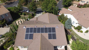 Residential Solar Panel Project, American Array Solar