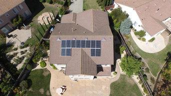 Residential Solar Panel Project, American Array Solar